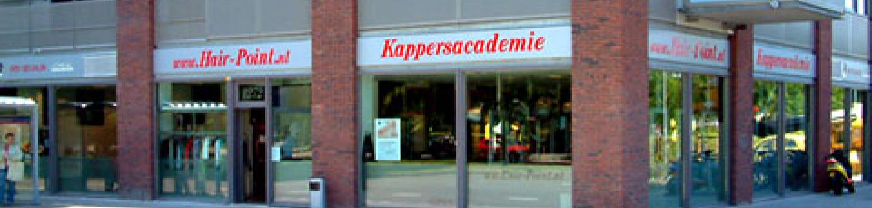 Kappersacademie photo banner contact